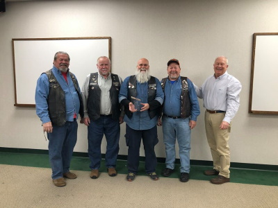 Elks members receive award