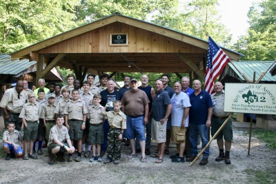 picnic shelter dedication