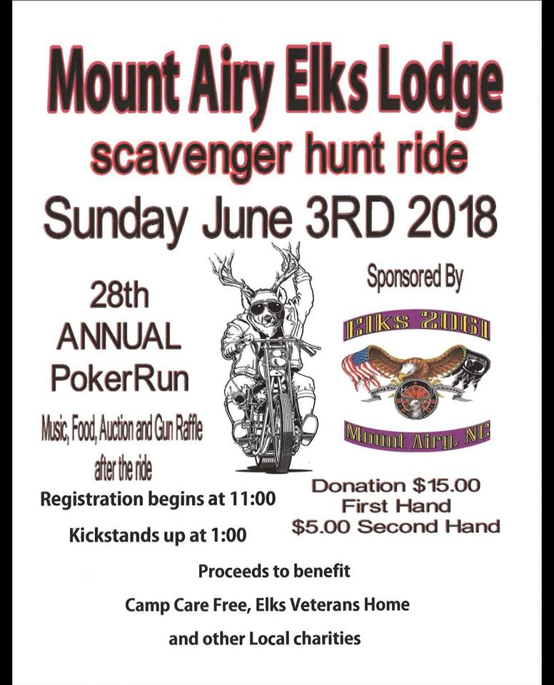 flyer for poker run